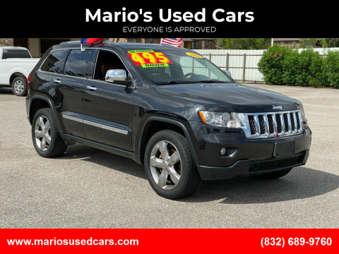 2012 Jeep Grand Cherokee for sale at Mario's Used Cars - Pasadena Location in Pasadena TX