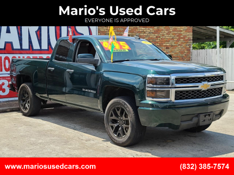 2015 Chevrolet Silverado 1500 for sale at Mario's Used Cars - South Houston Location in South Houston TX