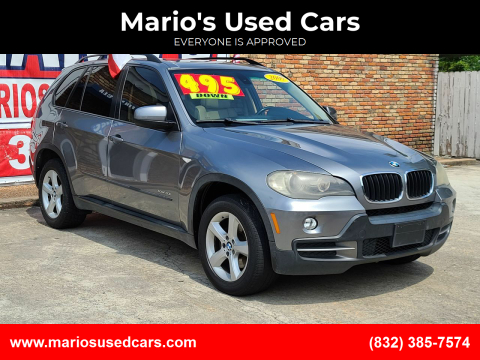 2009 BMW X5 for sale at Mario's Used Cars - South Houston Location in South Houston TX
