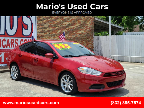 2013 Dodge Dart for sale at Mario's Used Cars - South Houston Location in South Houston TX