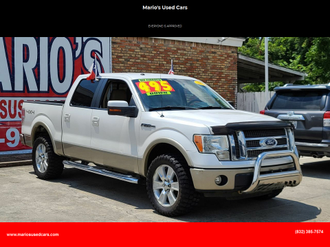 2010 Ford F-150 for sale at Mario's Used Cars - South Houston Location in South Houston TX