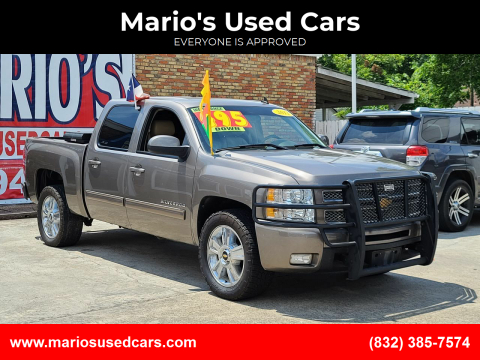 2012 Chevrolet Silverado 1500 for sale at Mario's Used Cars - South Houston Location in South Houston TX