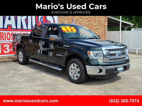 2014 Ford F-150 for sale at Mario's Used Cars - South Houston Location in South Houston TX