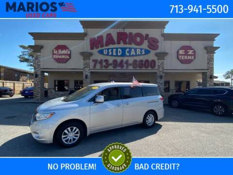 2013 Nissan Quest for sale at Mario's Used Cars in Houston TX