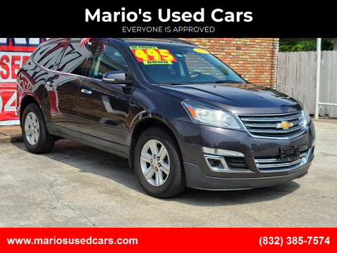 2013 Chevrolet Traverse for sale at Mario's Used Cars - South Houston Location in South Houston TX