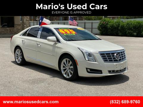 2013 Cadillac XTS for sale at Mario's Used Cars - Pasadena Location in Pasadena TX