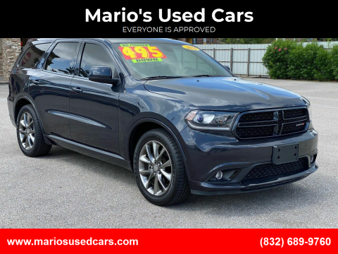 2014 Dodge Durango for sale at Mario's Used Cars - Pasadena Location in Pasadena TX