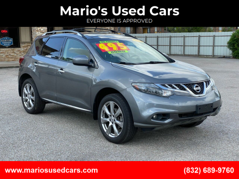 2014 Nissan Murano for sale at Mario's Used Cars - Pasadena Location in Pasadena TX