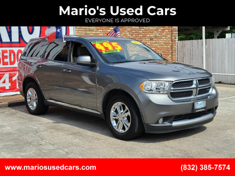 2011 Dodge Durango for sale at Mario's Used Cars - South Houston Location in South Houston TX