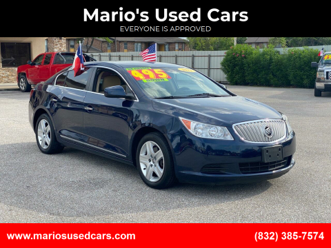 2011 Buick LaCrosse for sale at Mario's Used Cars - Pasadena Location in Pasadena TX