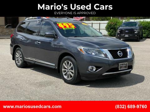 2014 Nissan Pathfinder for sale at Mario's Used Cars - Pasadena Location in Pasadena TX