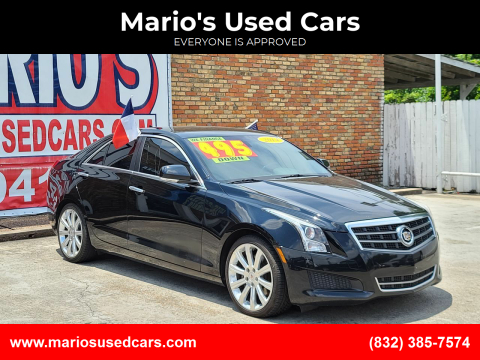2014 Cadillac ATS for sale at Mario's Used Cars - South Houston Location in South Houston TX