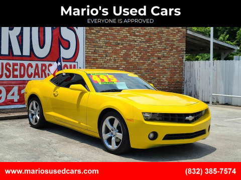 2011 Chevrolet Camaro for sale at Mario's Used Cars - South Houston Location in South Houston TX