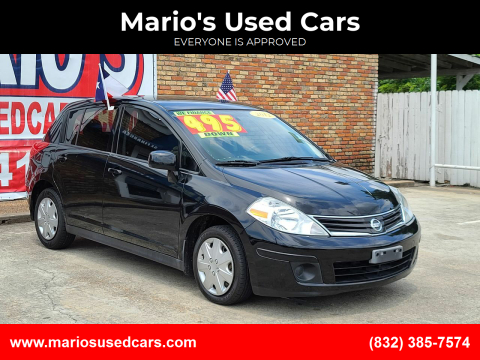 2012 Nissan Versa for sale at Mario's Used Cars - South Houston Location in South Houston TX