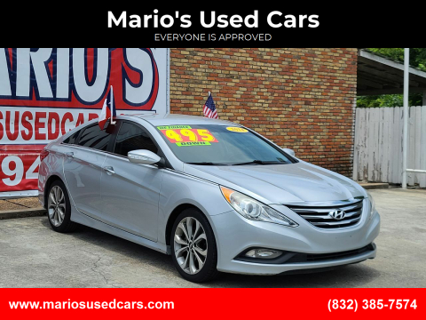 2014 Hyundai Sonata for sale at Mario's Used Cars - South Houston Location in South Houston TX