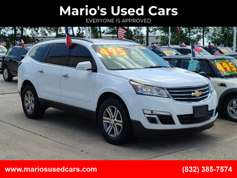 2016 Chevrolet Traverse for sale at Mario's Used Cars in Houston TX