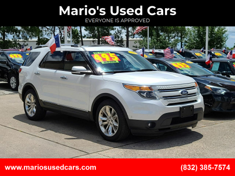 2015 Ford Explorer for sale at Mario's Used Cars in Houston TX