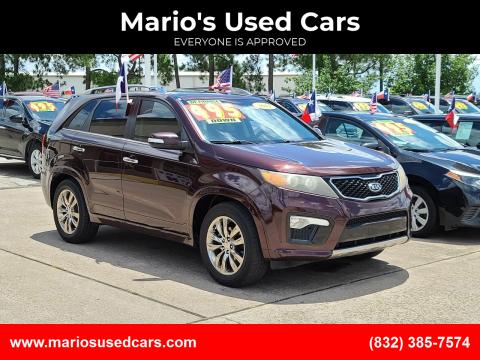 2011 Kia Sorento for sale at Mario's Used Cars in Houston TX
