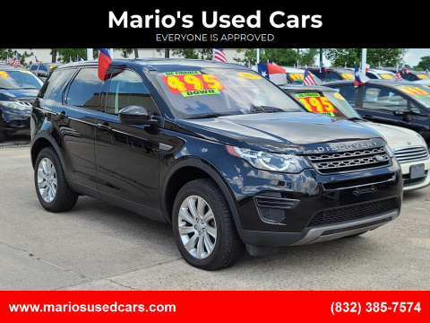 2017 Land Rover Discovery Sport for sale at Mario's Used Cars in Houston TX