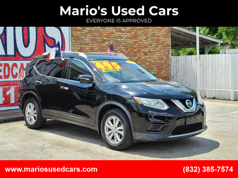 2015 Nissan Rogue for sale at Mario's Used Cars - South Houston Location in South Houston TX