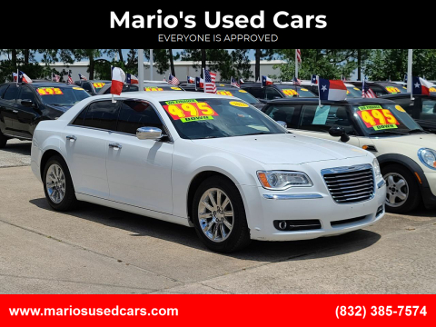 2012 Chrysler 300 for sale at Mario's Used Cars in Houston TX