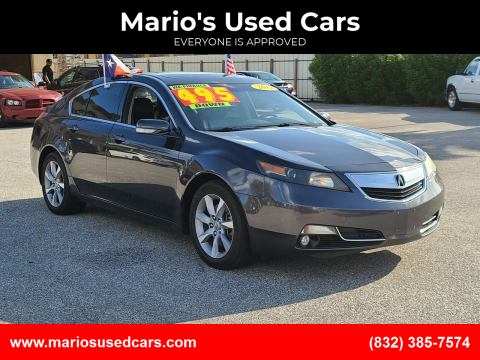 2012 Acura TL for sale at Mario's Used Cars - Pasadena Location in Pasadena TX