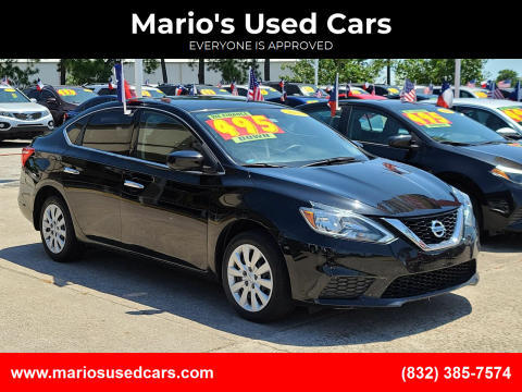 2017 Nissan Sentra for sale at Mario's Used Cars in Houston TX