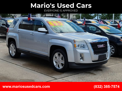 2012 GMC Terrain for sale at Mario's Used Cars in Houston TX