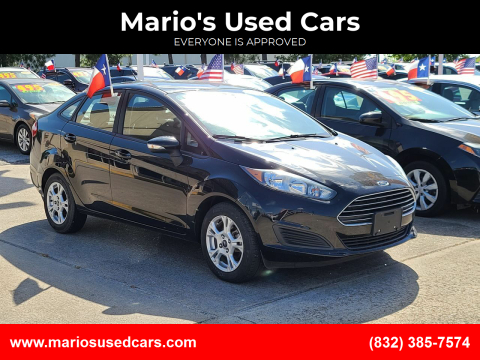 2016 Ford Fiesta for sale at Mario's Used Cars in Houston TX