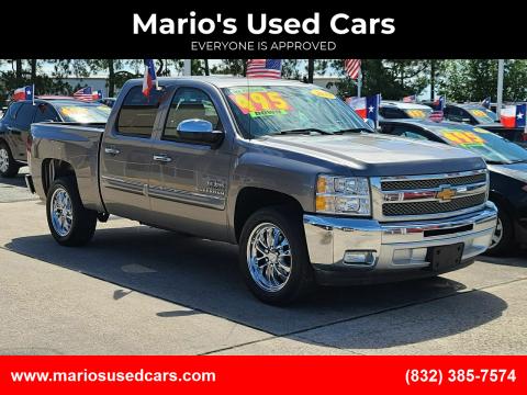 2013 Chevrolet Silverado 1500 for sale at Mario's Used Cars in Houston TX