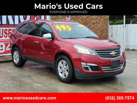 2014 Chevrolet Traverse for sale at Mario's Used Cars - South Houston Location in South Houston TX