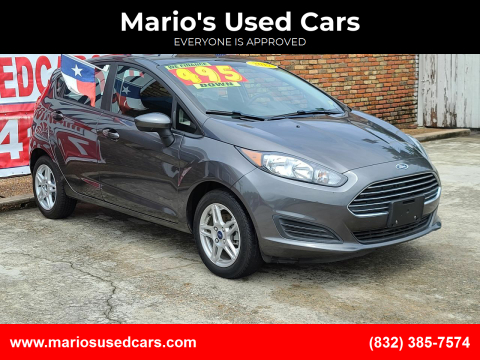 2017 Ford Fiesta for sale at Mario's Used Cars - South Houston Location in South Houston TX