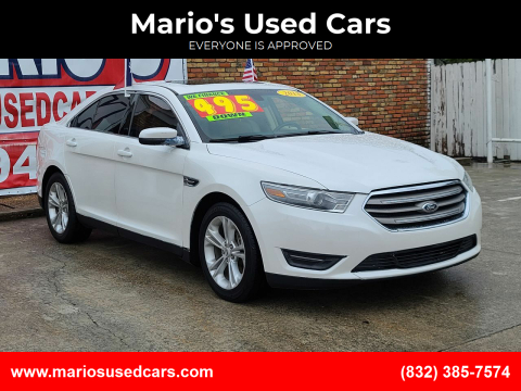2013 Ford Taurus for sale at Mario's Used Cars - Pasadena Location in Pasadena TX