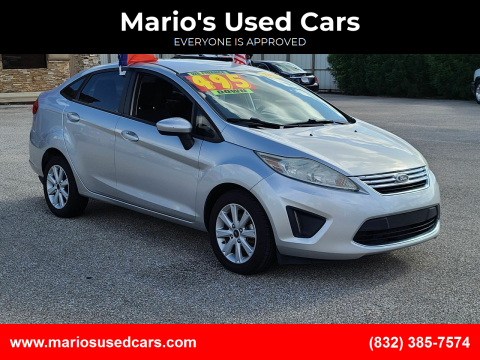 2011 Ford Fiesta for sale at Mario's Used Cars - Pasadena Location in Pasadena TX