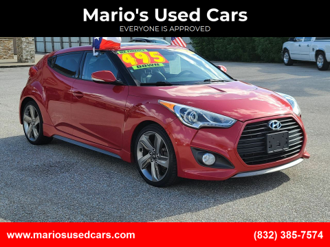 2013 Hyundai Veloster for sale at Mario's Used Cars - Pasadena Location in Pasadena TX