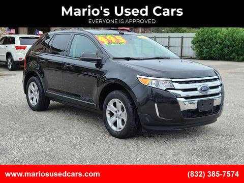 2013 Ford Edge for sale at Mario's Used Cars - Pasadena Location in Pasadena TX