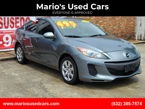 2013 Mazda MAZDA3 for sale at Mario's Used Cars - South Houston Location in South Houston TX