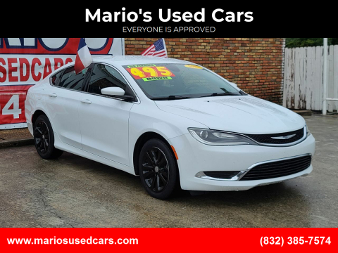 2015 Chrysler 200 for sale at Mario's Used Cars - South Houston Location in South Houston TX