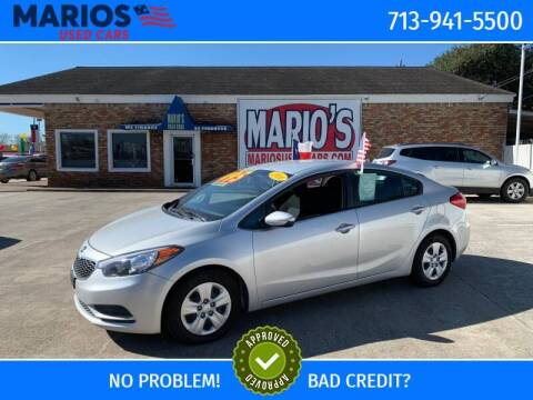 2016 Kia Forte for sale at Mario's Used Cars - South Houston Location in South Houston TX
