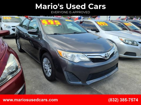2012 Toyota Camry for sale at Mario's Used Cars - South Houston Location in South Houston TX