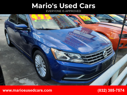 2017 Volkswagen Passat for sale at Mario's Used Cars - South Houston Location in South Houston TX