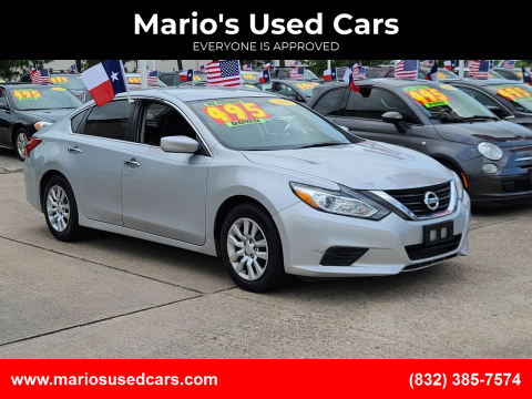 2017 Nissan Altima for sale at Mario's Used Cars in Houston TX