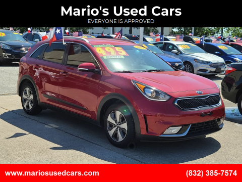 2017 Kia Niro for sale at Mario's Used Cars in Houston TX