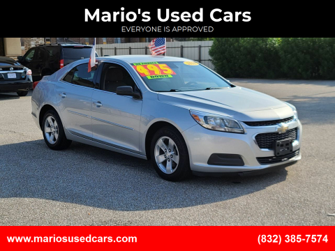 2016 Chevrolet Malibu Limited for sale at Mario's Used Cars - Pasadena Location in Pasadena TX