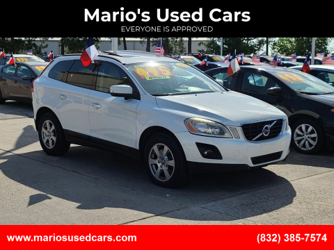 2010 Volvo XC60 for sale at Mario's Used Cars in Houston TX
