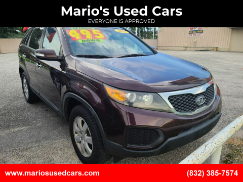 2013 Kia Sorento for sale at Mario's Used Cars in Houston TX