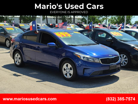 2018 Kia Forte for sale at Mario's Used Cars in Houston TX