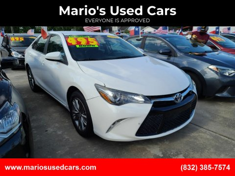 2016 Toyota Camry for sale at Mario's Used Cars - South Houston Location in South Houston TX