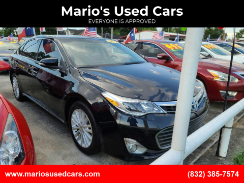 2014 Toyota Avalon Hybrid for sale at Mario's Used Cars - South Houston Location in South Houston TX