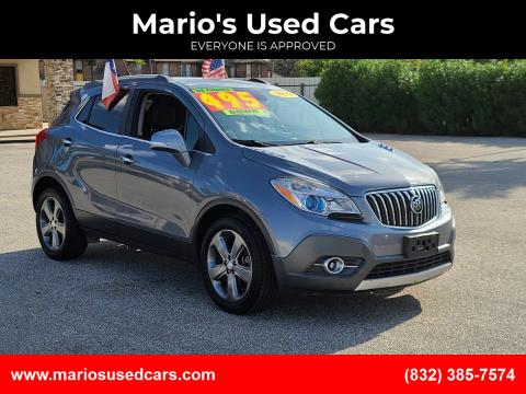 2014 Buick Encore for sale at Mario's Used Cars - Pasadena Location in Pasadena TX